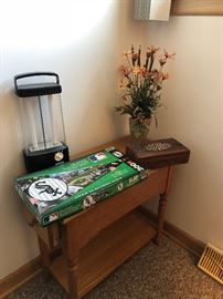Side library table, Sox board game