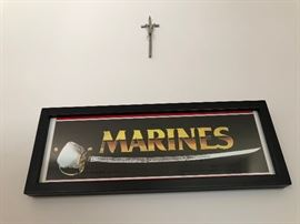 MARINES sign
