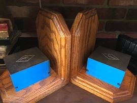 Mid Century Bookends