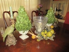 Waterford and decorative items