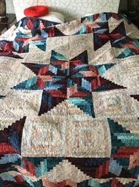 Hand Made Quilt  King Size