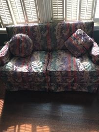 One of 2 Downfilled Loveseats