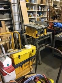 SEVERAL TABLE SAWS