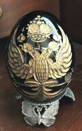 Faberge' Crystal Egg