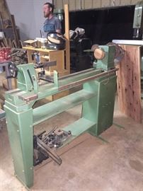 Grizzly HD Lathe