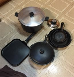 Iron Skillets & Pots