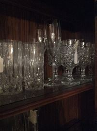 Crystal glasses & stemware