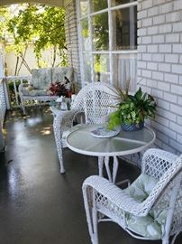 5-Piece Patio Wicker Set