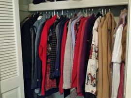 Designer Women's Coats & Sweaters (Many Size Large)