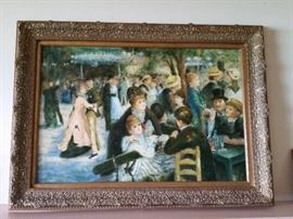 "Large Renoir Reproduction 44""Wx32""H"