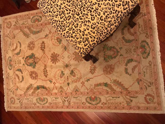 Oushak Rug/Turkish carpet 6' x 4'
