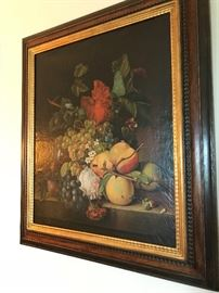 20th century oil painting after Dutch school still life