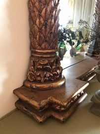 Detail, hall mirror