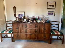 Beautiful Buffet by Luce Furniture (Matching Server also available)