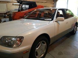1999 Lexus LS400 155,729 miles