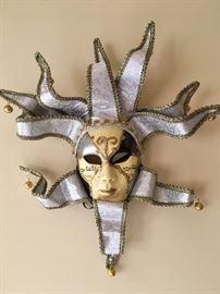 Oversized  Mardi Gras mask