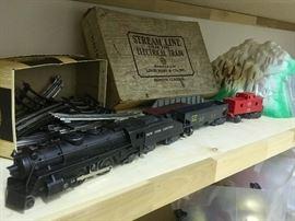 Vintage Marx train set