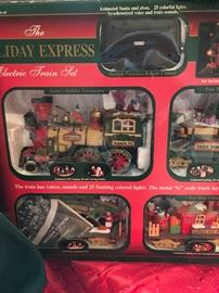 Holiday Express boxed train set would make a perfect Christmas gift