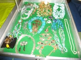 Some Estate Jewelry & TONS of Costume Jewelry