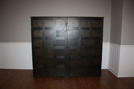 Custom made Cabinet with Drop Down Desk