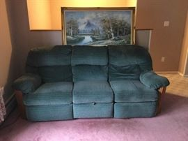Reclining Sofa and M Scott Art https://ctbids.com/#!/description/share/53845