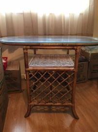 game table with two chairs and checker board (next two pictures)