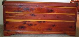 Butler hand made cedar chest