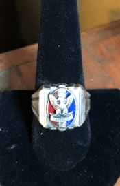 1950's Boy Scout Ring