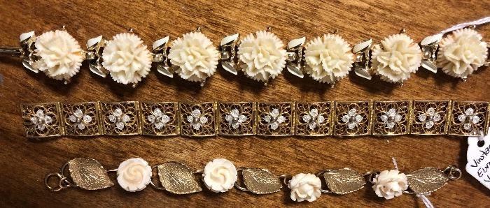 Lovely Ornate Bracelets