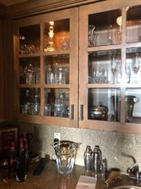 waterford & bar ware