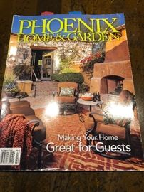 Our clients home featured in Phx Home & Garden 2016