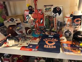 Chicago Bears items.