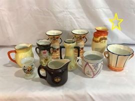 Assorted Collectibles Pitchers  Vases