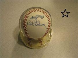 Bob Gibson signed baseball