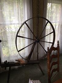 Awesome spinning wheel-original