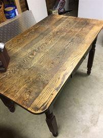 Oak table-great size