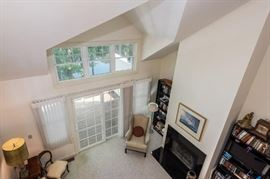 living room over head