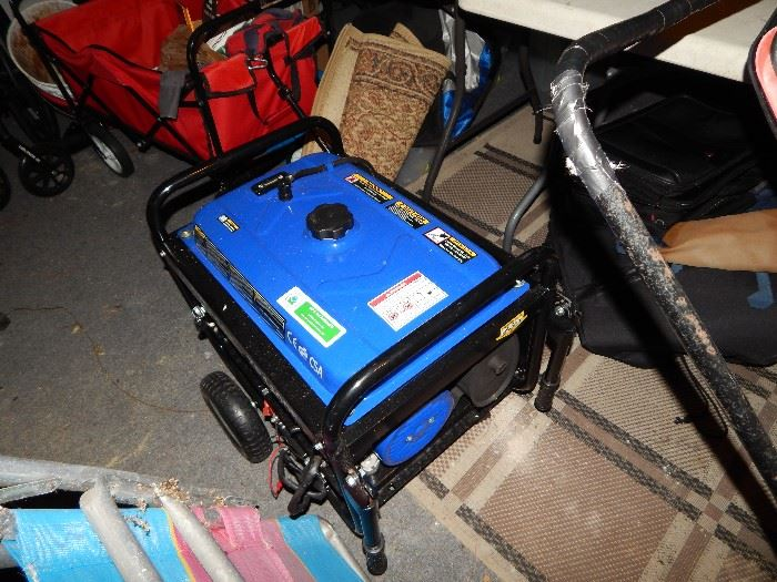 Generator DuroMax xp4400e  $250. Used once.