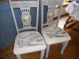 very charming chairs