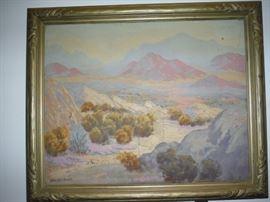 Listed Artist. Oliver Glen Barrett  1903-1970