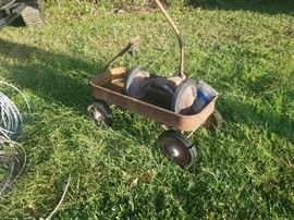 Antique wagon and Parks