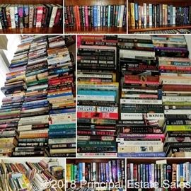 A fraction of the books!