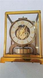 Le'Coultre Brass Atmos Clock