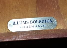 Danish Modern! Illums Bolighus desk