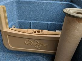 Sweetwater hot tub ready for those chilly Fall nights!