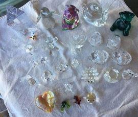 ICT001 Crystal & Glass Figurines
