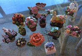 ICT003 Bone China Flowers & Trinket Boxes