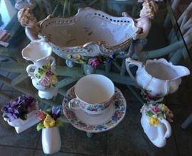 ICT012 Vintage Tea Cup & Other Fine Bone China