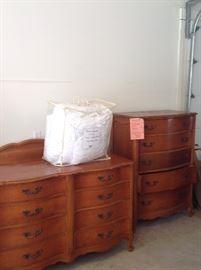 Bedroom Set $50. Separately: Headboard & Frame $10, Chest $20, Dresser $30