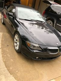 2005 BMW 645i -138,000 miles.  Price reduced to $3,600 as is. Recent engine repairs, new battery - was running but now does not start.